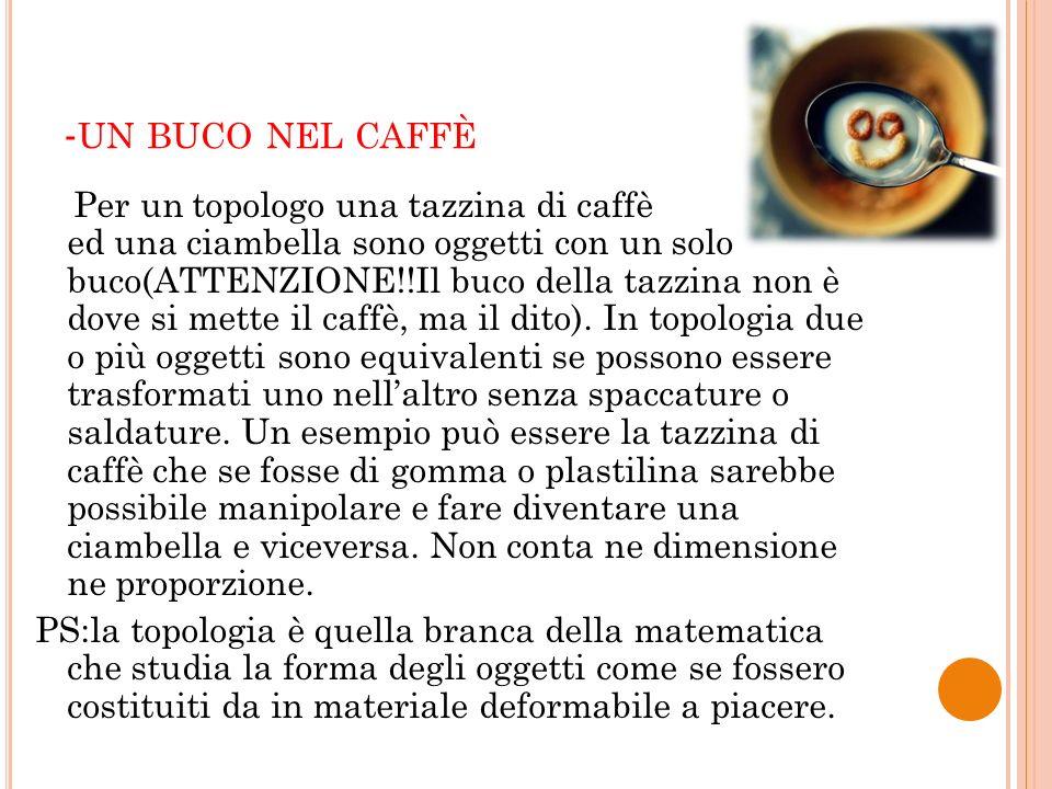 -un buco nel caffè
