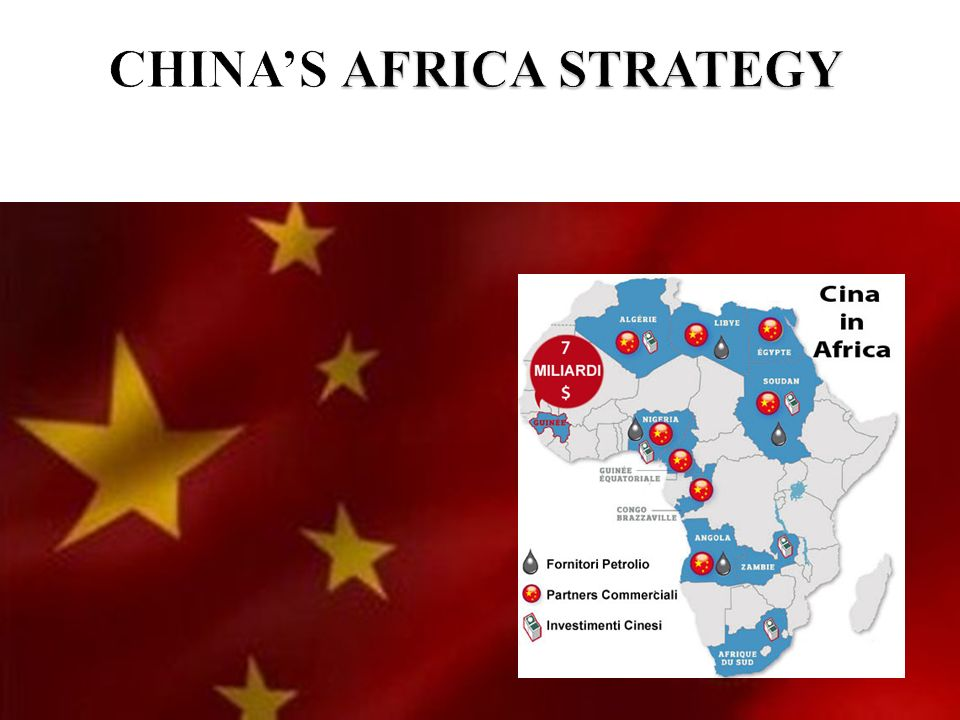 CHINA'S AFRICA STRATEGY