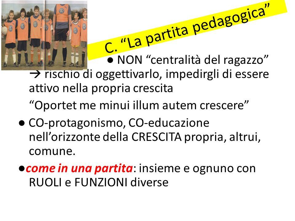 C. La partita pedagogica
