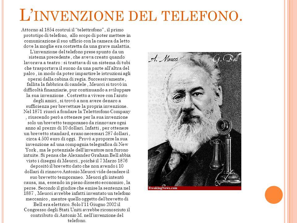 L'invenzione del telefono.