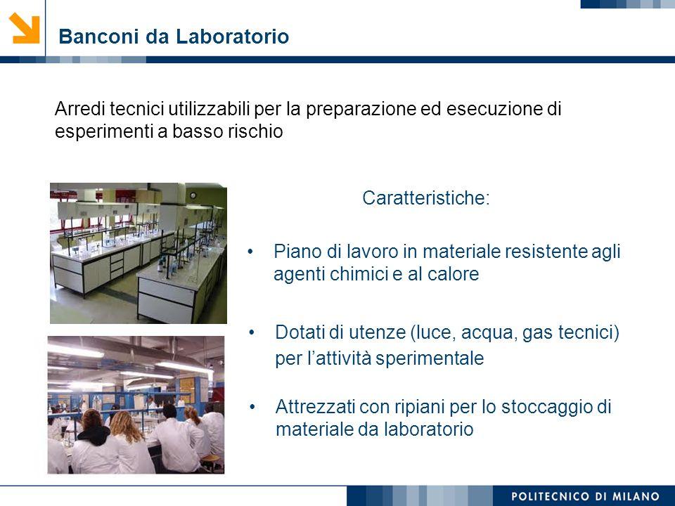 Banconi da Laboratorio