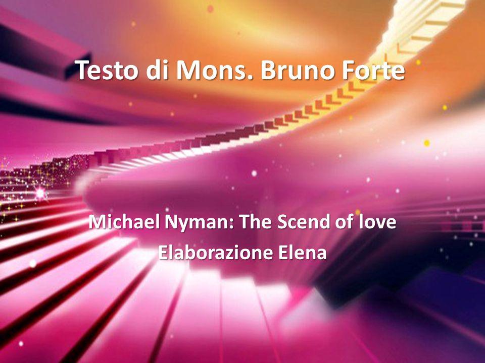 Testo di Mons. Bruno Forte