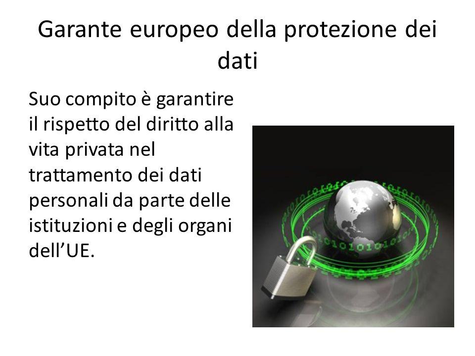 Garante europeo della protezione dei dati