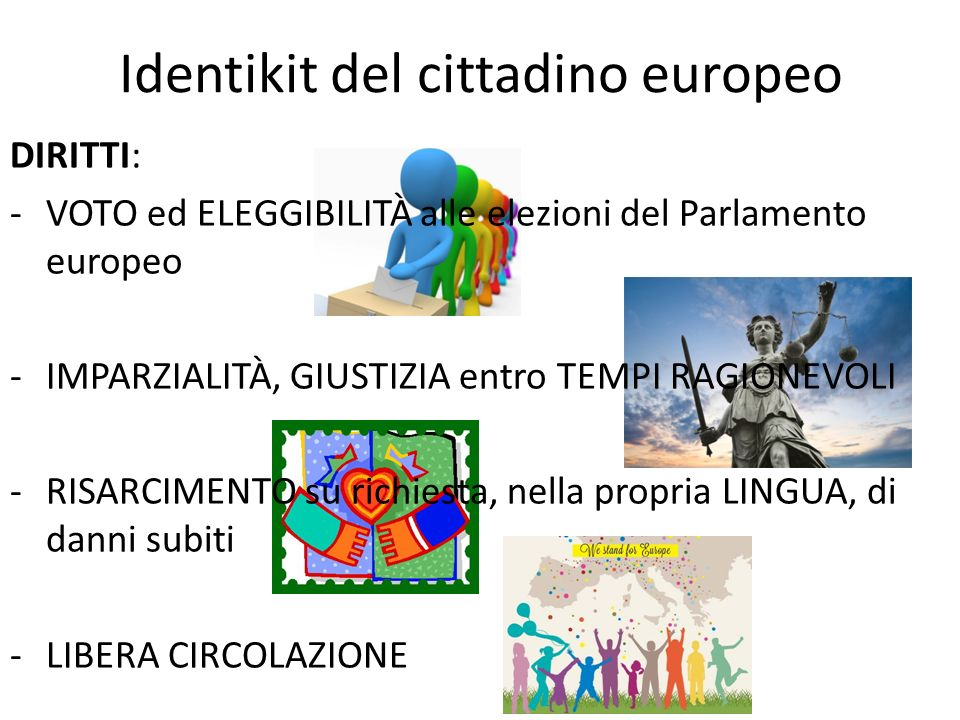 Identikit del cittadino europeo