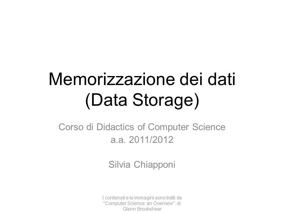 Memorizzazione dei dati (Data Storage)