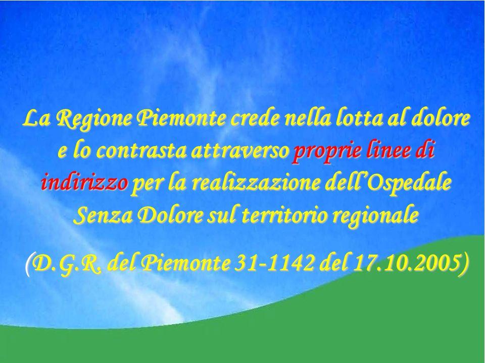 (D.G.R. del Piemonte 31-1142 del 17.10.2005)