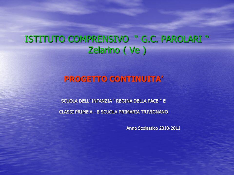 ISTITUTO COMPRENSIVO G.C. PAROLARI Zelarino ( Ve )