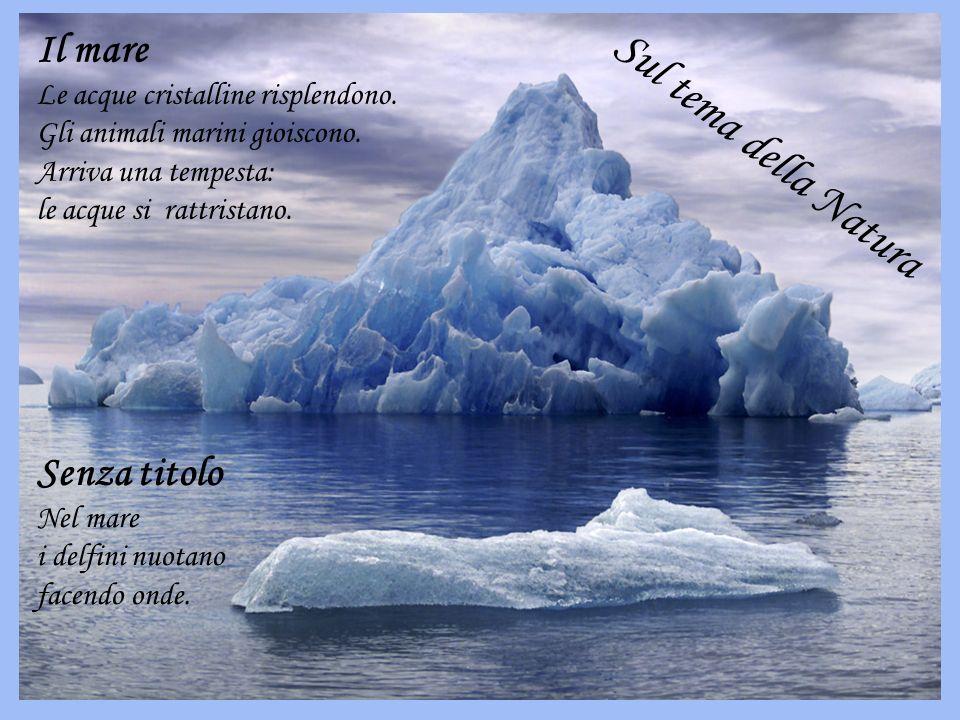 Sul tema della Natura Il mare Senza titolo