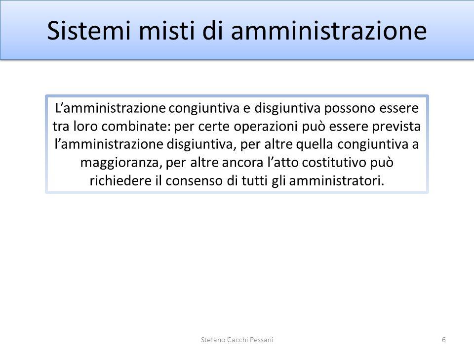 Sistemi misti di amministrazione