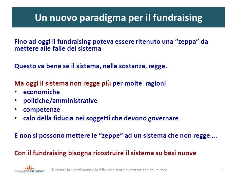 Un nuovo paradigma per il fundraising
