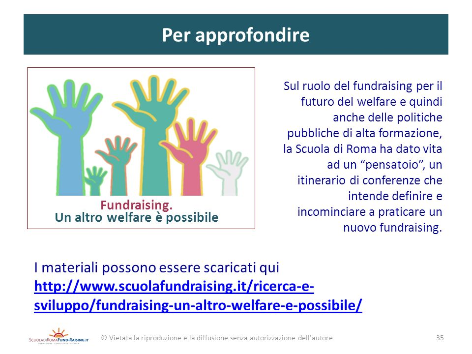 Un altro welfare è possibile