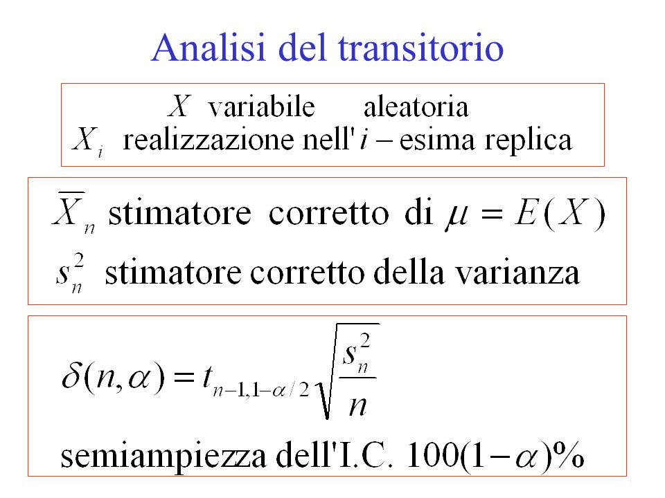 Analisi del transitorio