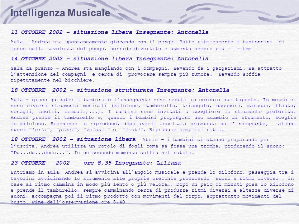 Intelligenza Musicale