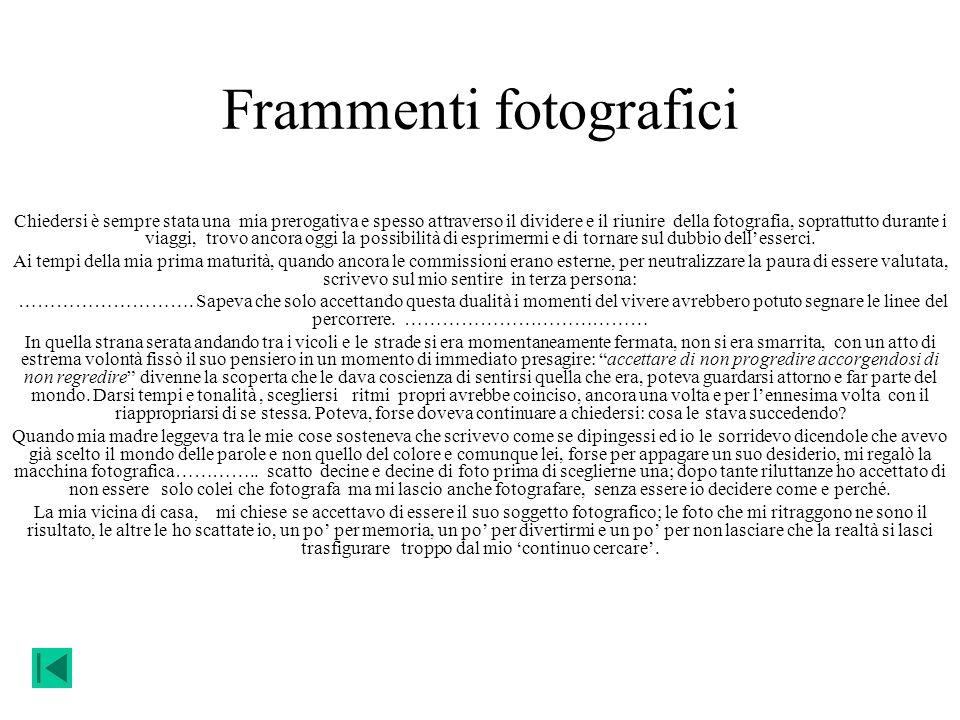 Frammenti fotografici