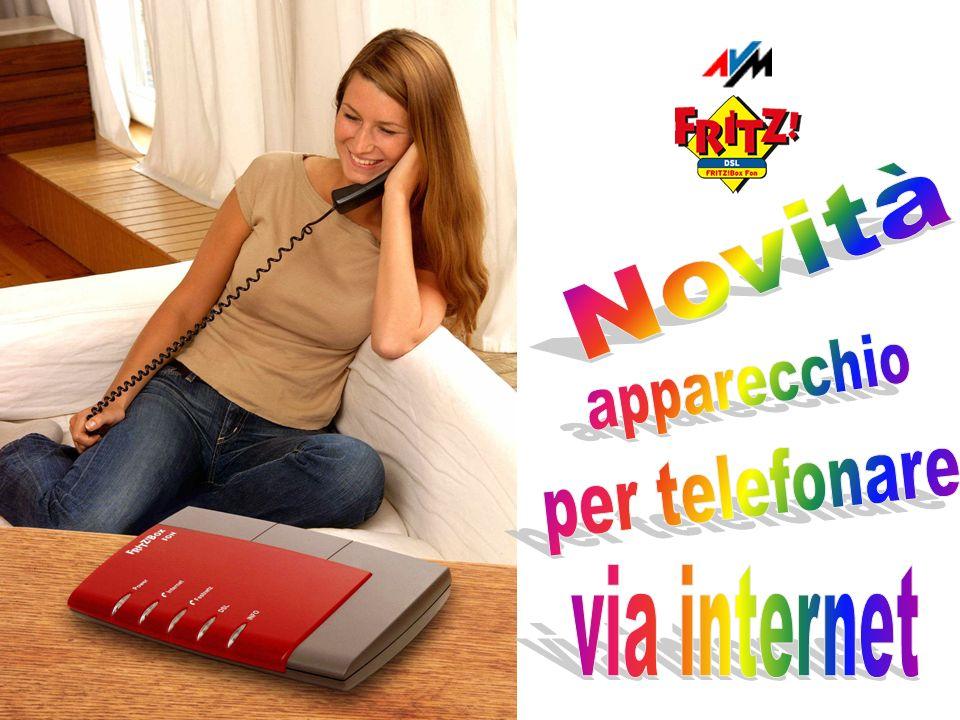 Novità apparecchio per telefonare via internet
