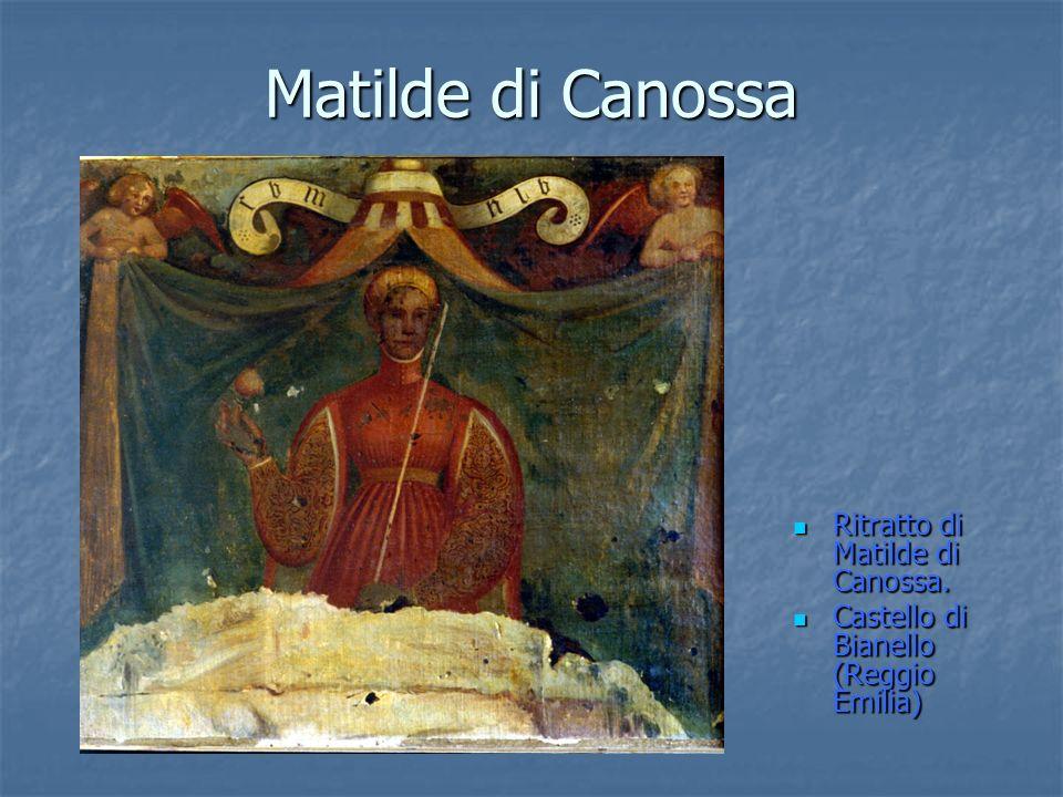 Matilde di Canossa Ritratto di Matilde di Canossa.