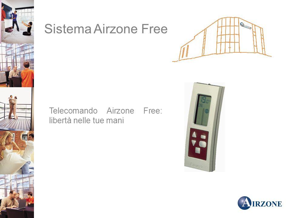 Sistema Airzone Free Telecomando Airzone Free: libertà nelle tue mani