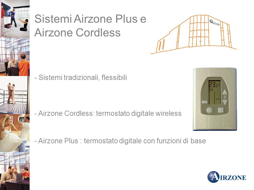 Sistemi Airzone Plus e Airzone Cordless