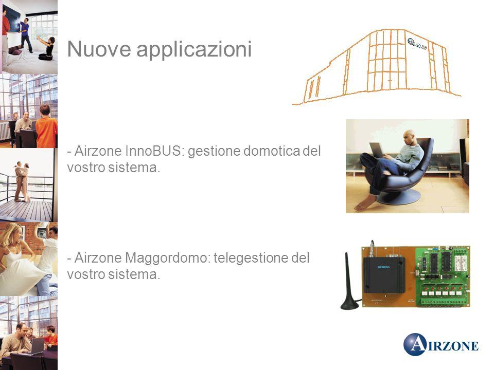 Nuove applicazioni - Airzone InnoBUS: gestione domotica del vostro sistema.
