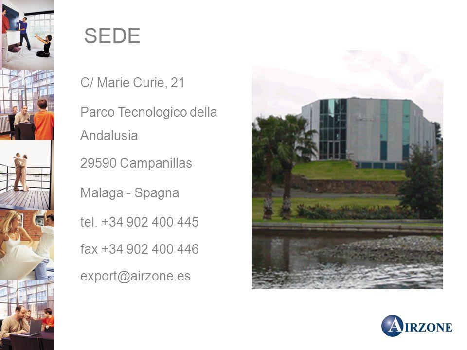 SEDE C/ Marie Curie, 21 Parco Tecnologico della Andalusia