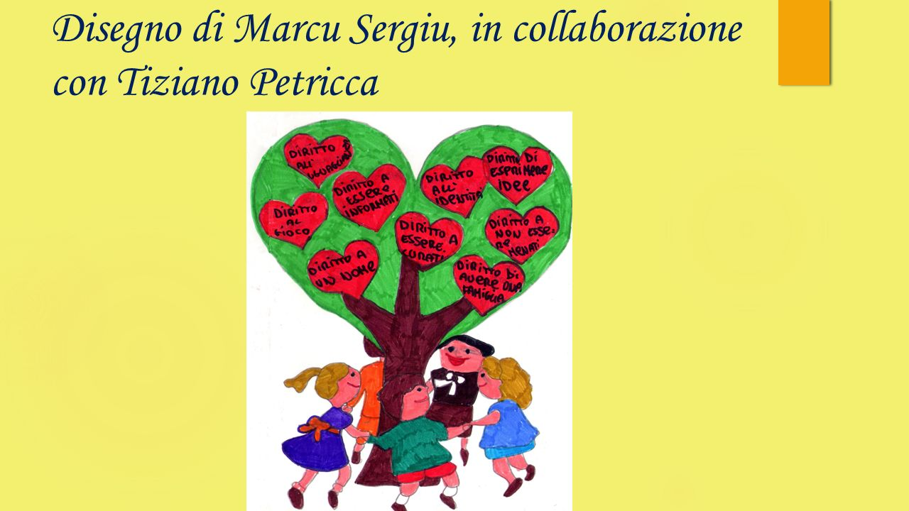 Disegno di Marcu Sergiu, in collaborazione con Tiziano Petricca