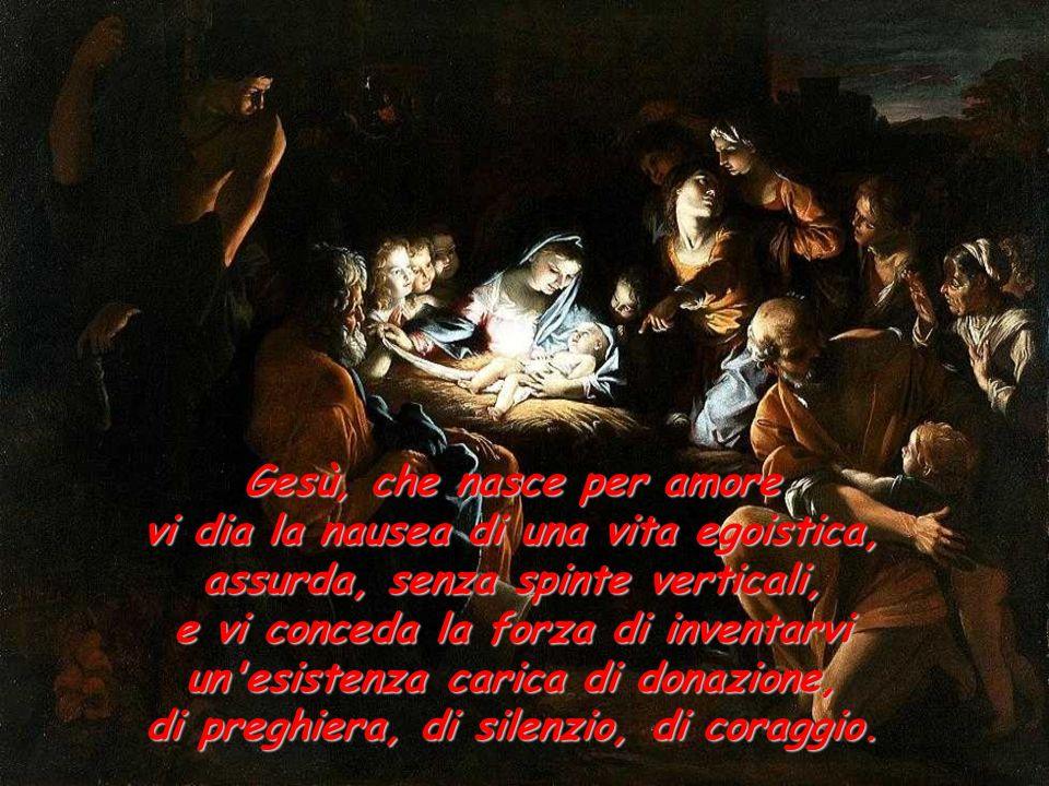 Gesù, che nasce per amore
