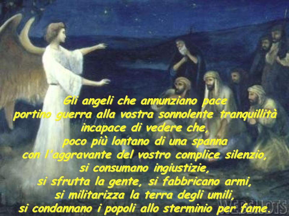 Gli angeli che annunziano pace