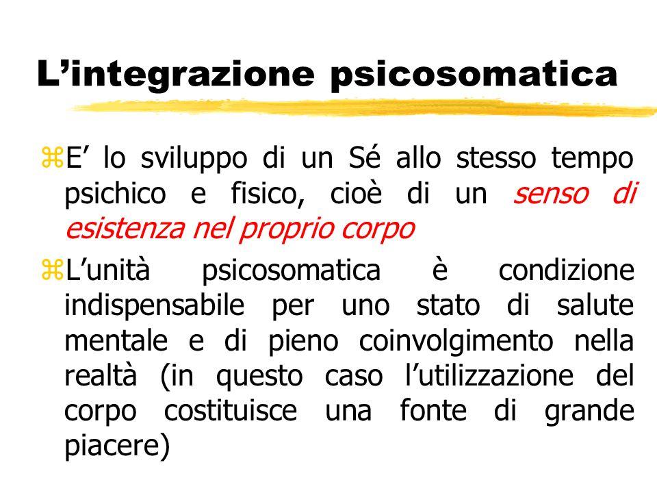 L'integrazione psicosomatica