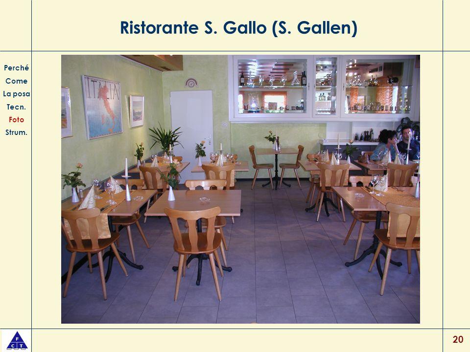 Ristorante S. Gallo (S. Gallen)