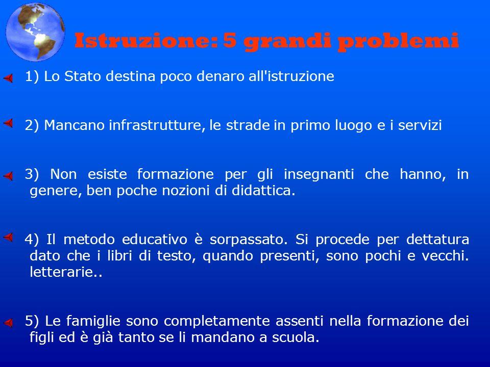 Istruzione: 5 grandi problemi