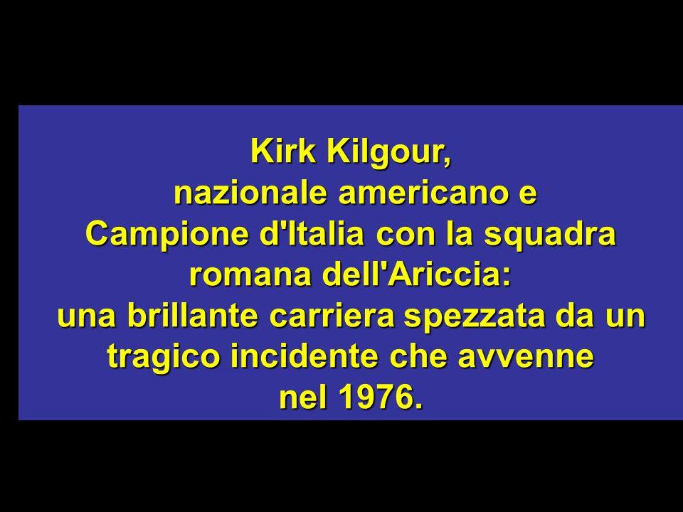 Campione d Italia con la squadra romana dell Ariccia: