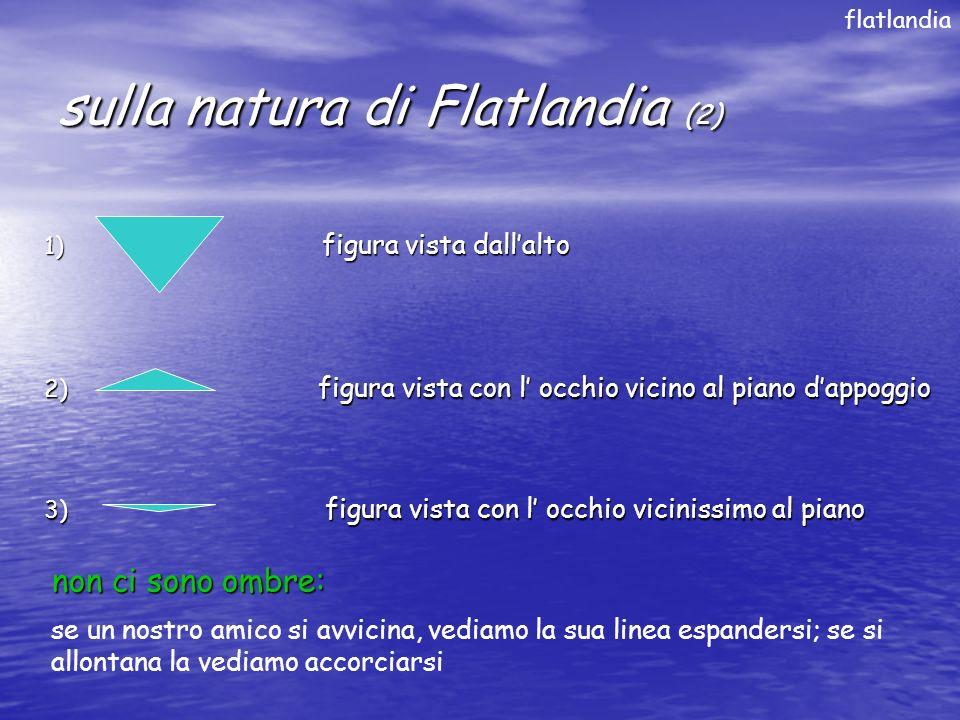 sulla natura di Flatlandia (2)