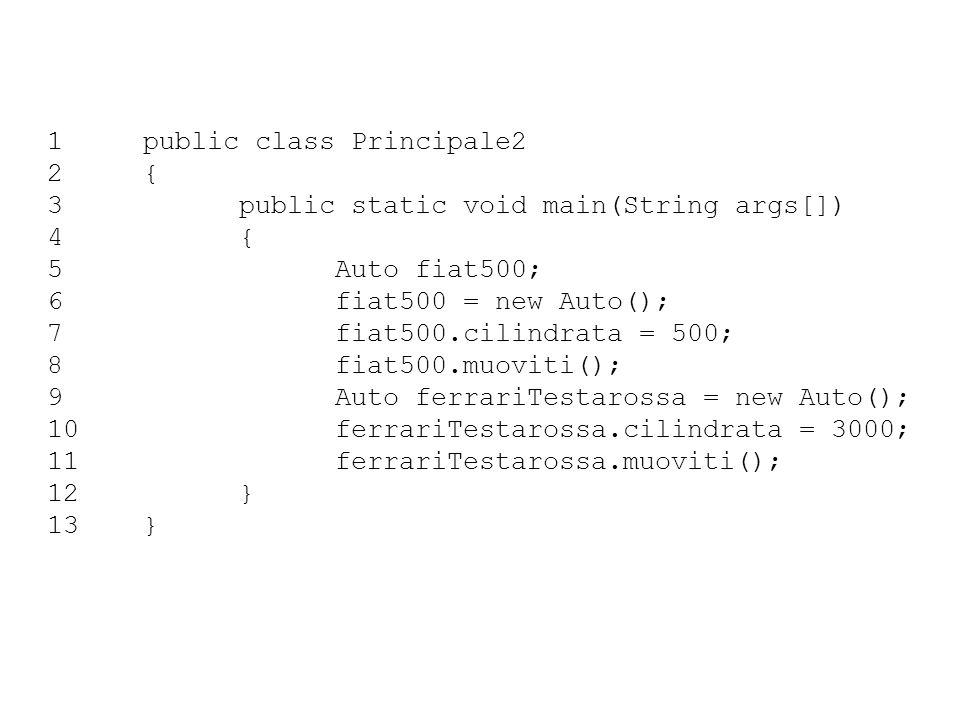 1 public class Principale2