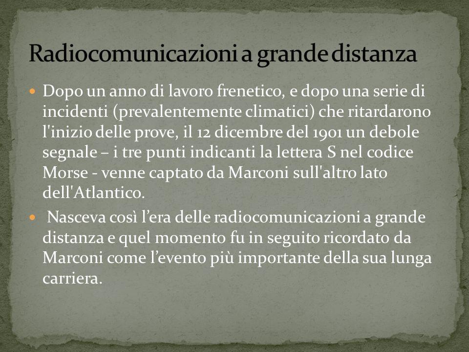 Radiocomunicazioni a grande distanza