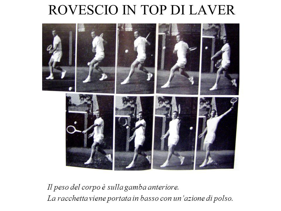 ROVESCIO IN TOP DI LAVER
