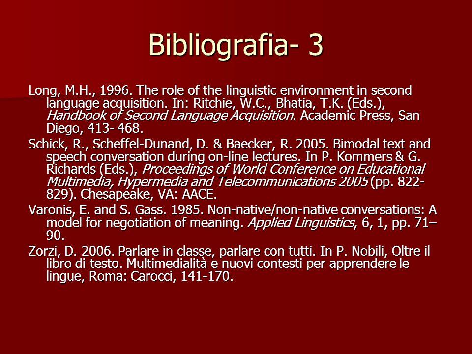 Bibliografia- 3
