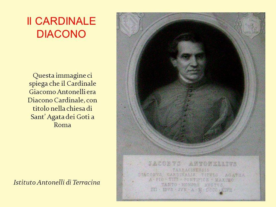 Il CARDINALE DIACONO