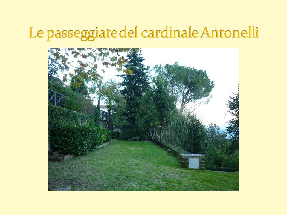 Le passeggiate del cardinale Antonelli