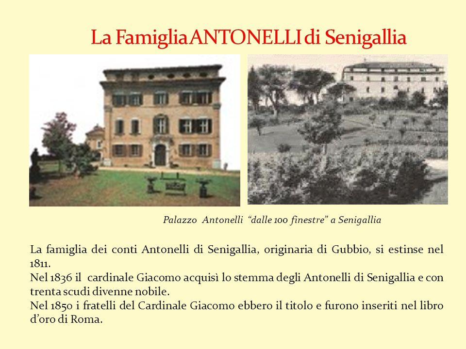 La Famiglia ANTONELLI di Senigallia