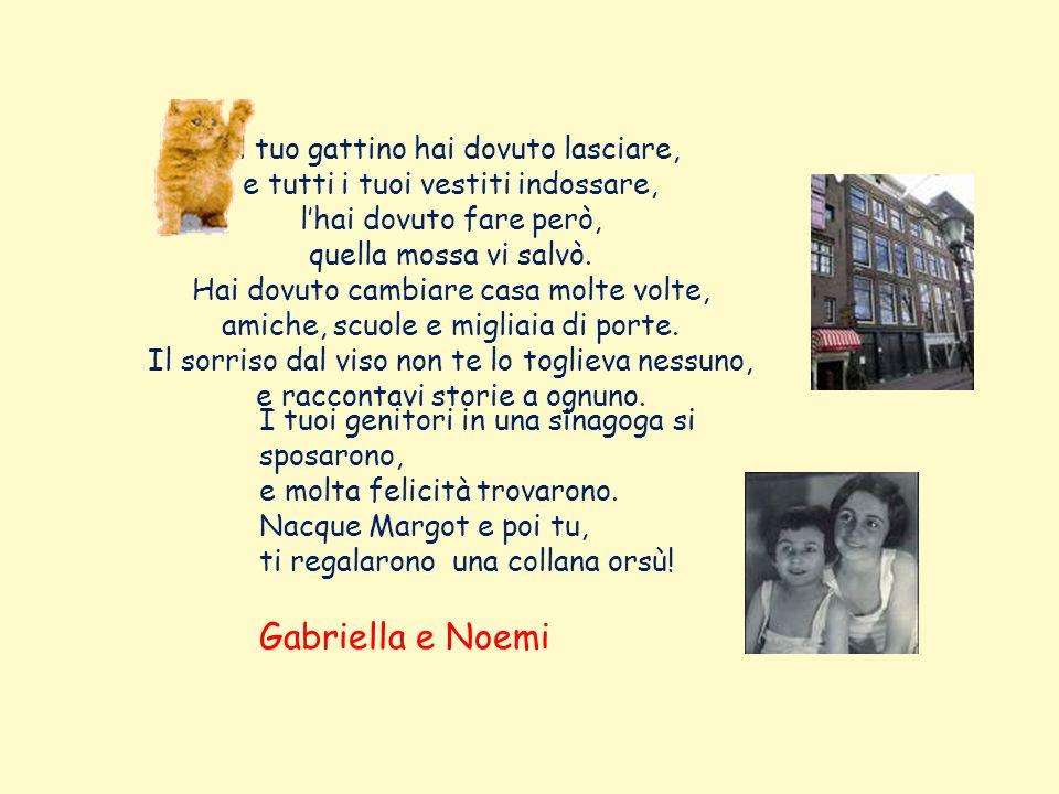 Gabriella e Noemi Il tuo gattino hai dovuto lasciare,