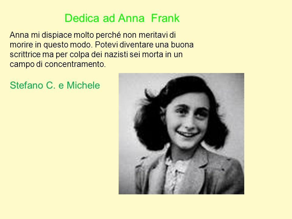 Dedica ad Anna Frank