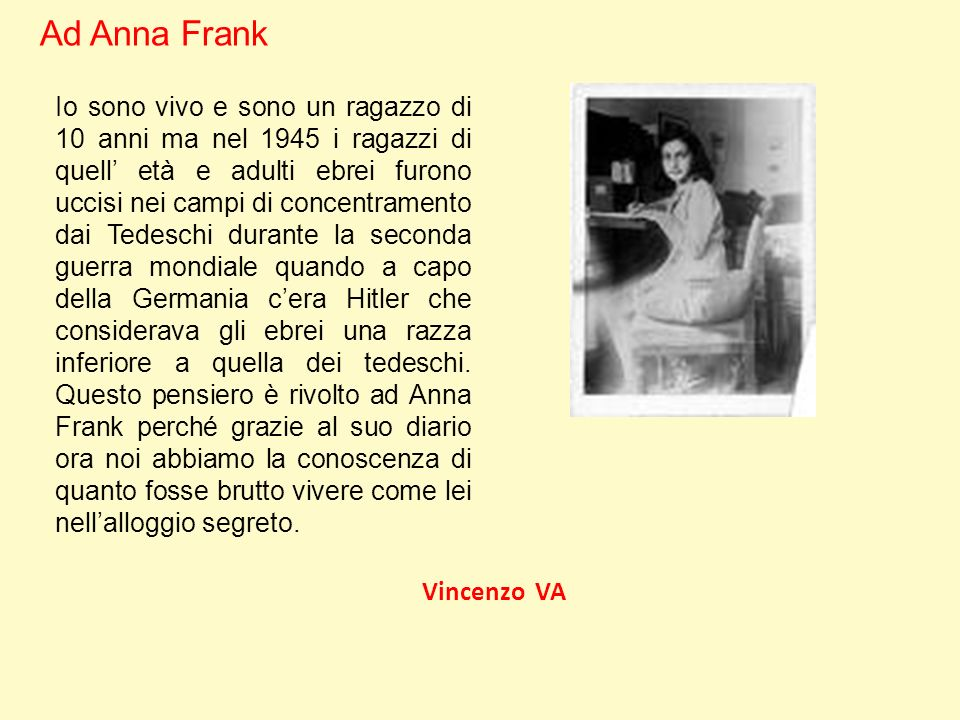 Ad Anna Frank