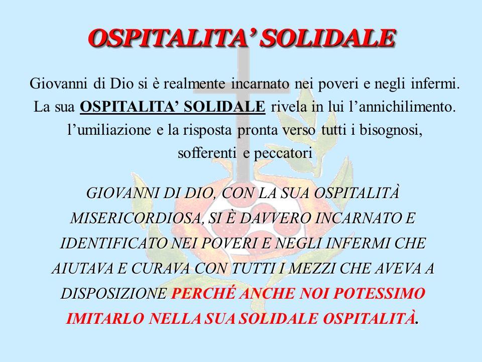 OSPITALITA' SOLIDALE