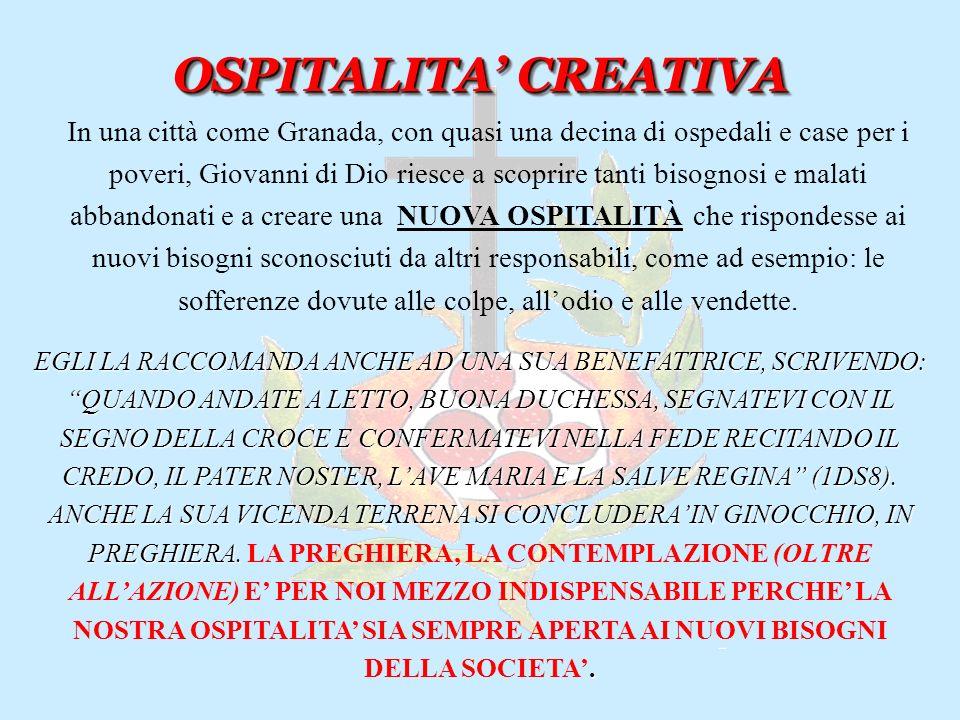 OSPITALITA' CREATIVA