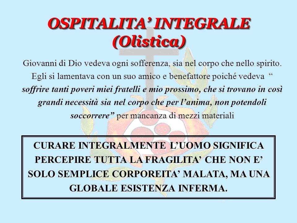 OSPITALITA' INTEGRALE (Olistica)