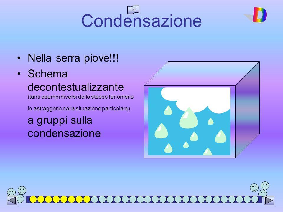 Condensazione D Nella serra piove!!!
