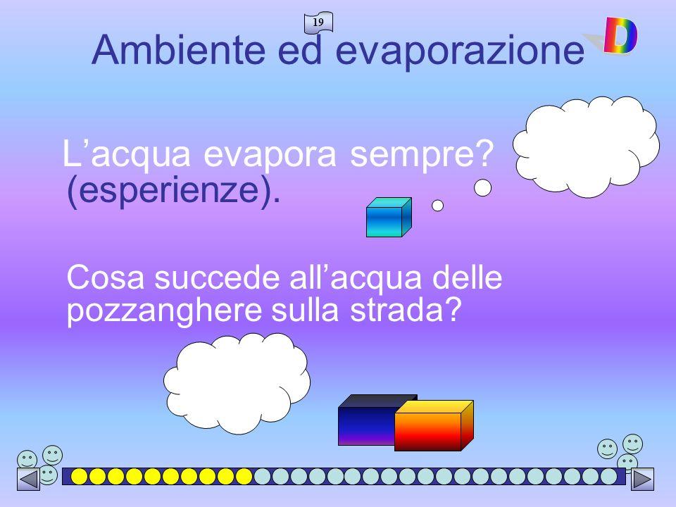 Ambiente ed evaporazione