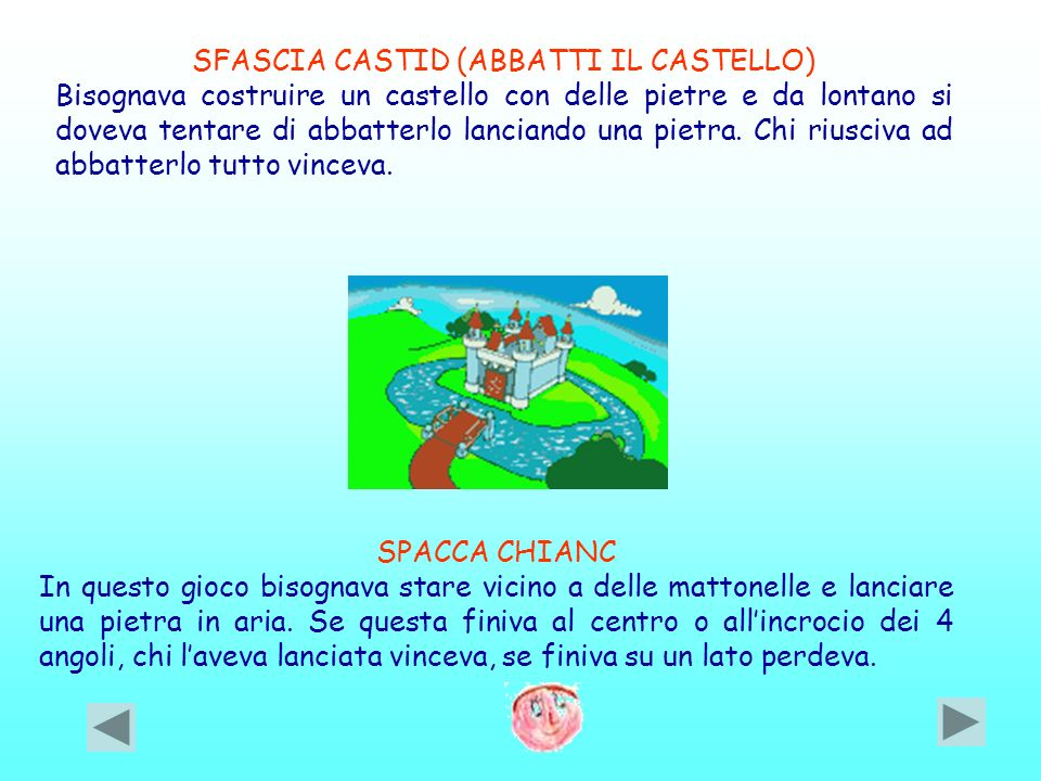 SFASCIA CASTID (ABBATTI IL CASTELLO)