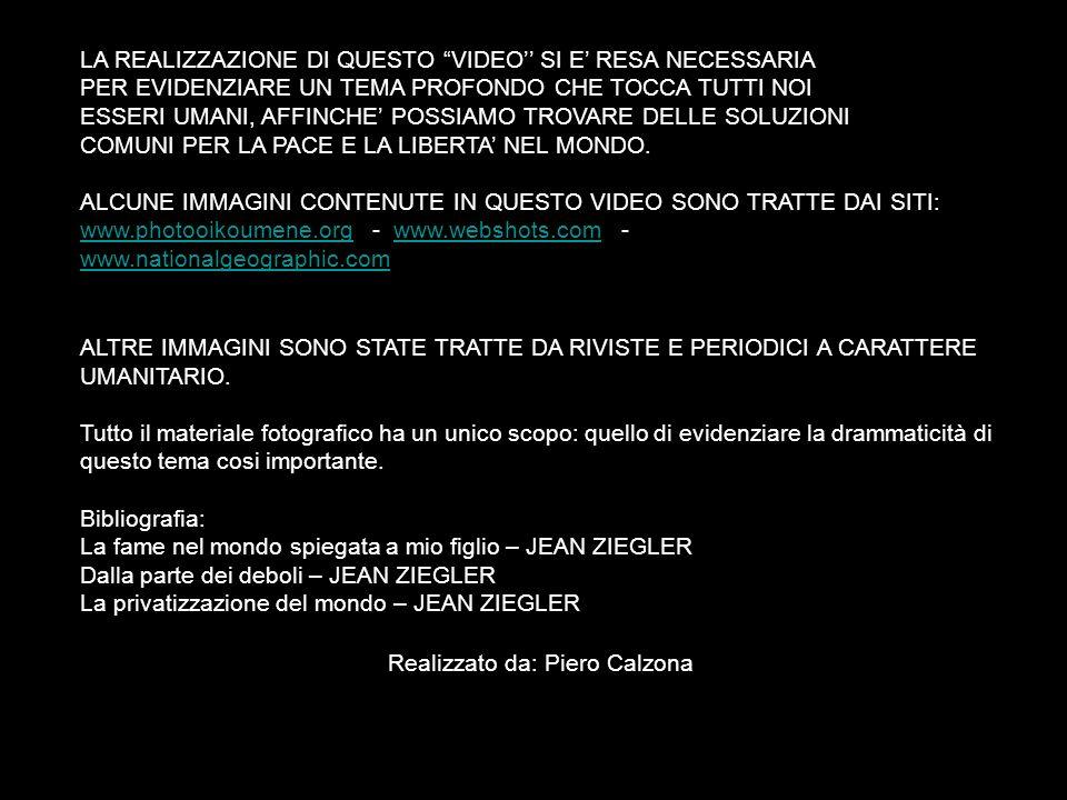Realizzato da: Piero Calzona
