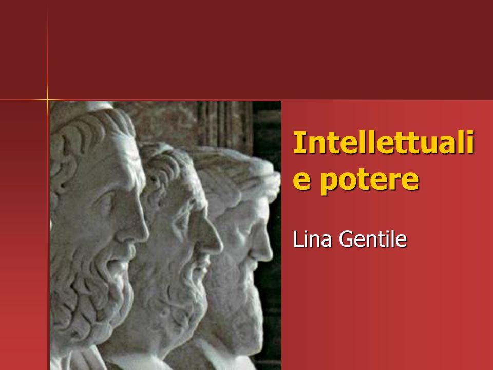 Intellettuali e potere